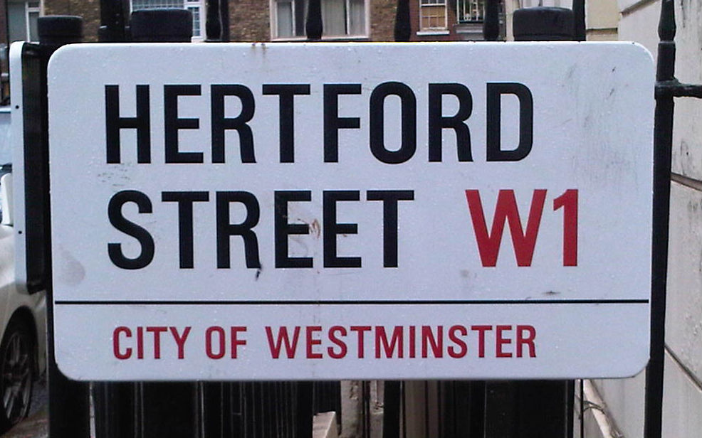 Hertford Street, Mayfair, London W1